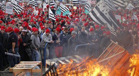 Het gaat nog steeds niet goed in Frankrijk, onrust stijgt