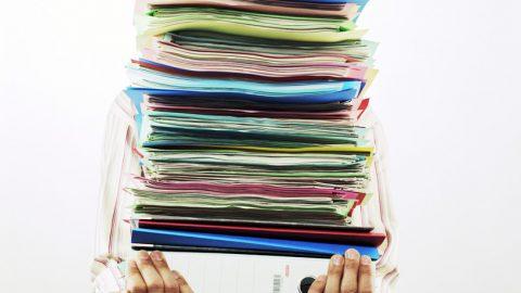Regering wil papierwinkel drastisch beperken