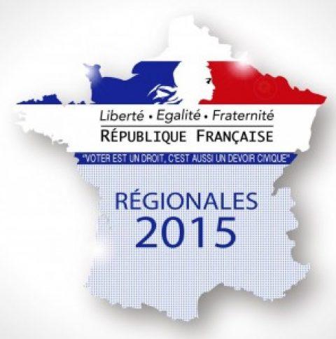 Regionale verkiezingen in Frankrijk
