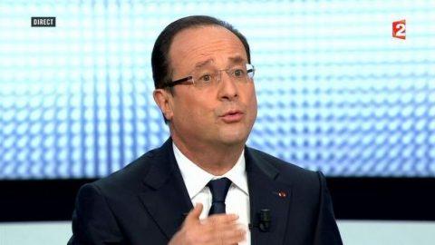 Hollande herhaalt zijn standpunten en houdt vast aan plannen