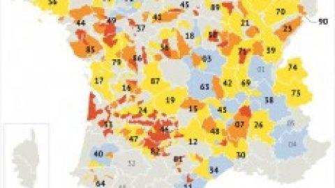 Droogte in Frankrijk