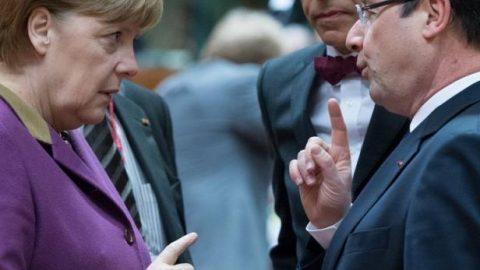 Socialisten lopen te hoop tegen Europa en Angela Merkel