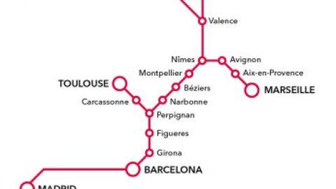 Nieuwe rechtstreekse trein naar Barcelona