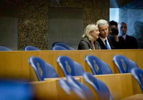 Marine le Pen en Wilders willen 'machtsblok' vormen