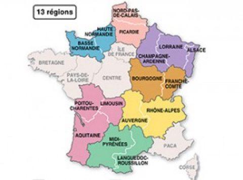 Territoriale hervorming Frankrijk
