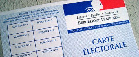 Stemmen voor Europese verkiezingen