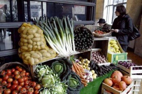 Groenten en fruit duur deze zomer