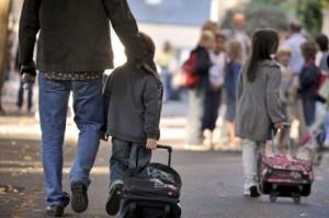 Kinderbijslag Franse rentrée