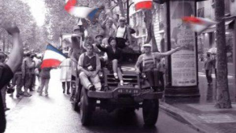 Parijs 70 jaar bevrijd