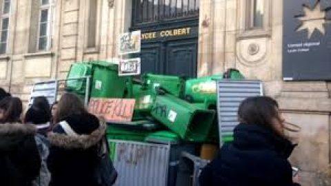 Leerlingen Parijs laten van zich horen