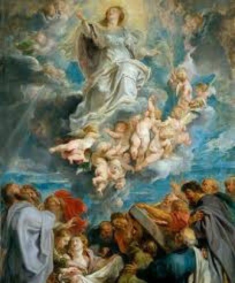 Maria Hemelvaart in seculier Frankrijk