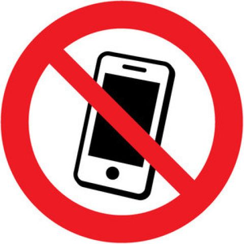 Verbod mobiele telefoons op school!