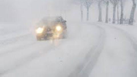 Zware sneeuwval in noordoosten Frankrijk