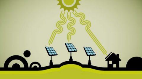 Opwekken zonne-energie op een laag pitje
