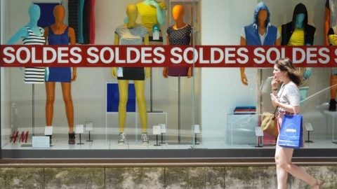 Franse zullen flink gebruik maken van de zomeruitverkoop
