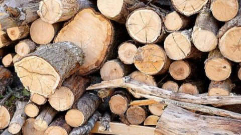 Stoken en koken op hout