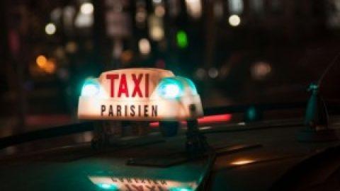 Parijse taxi's blokkeren voor de derde keer Parijs